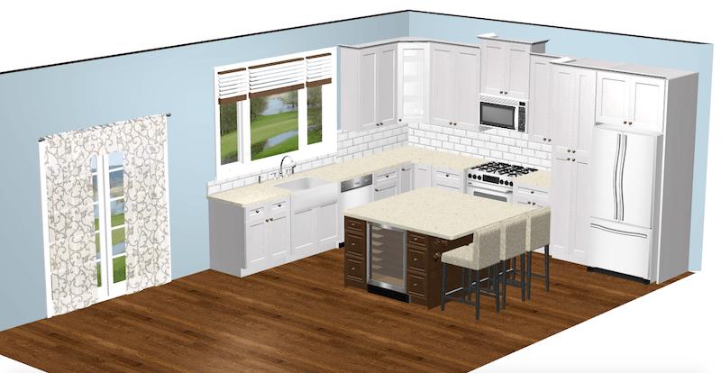 white-pro-kitchen-elevation