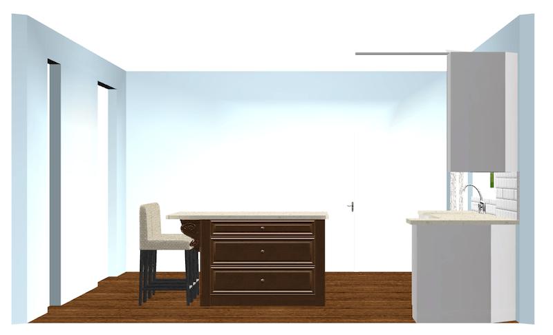 wood-island-in-white-kitchen