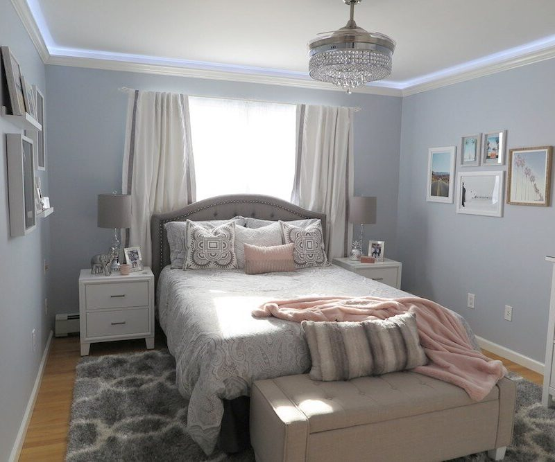 Before and After Teen Bedroom Transformation