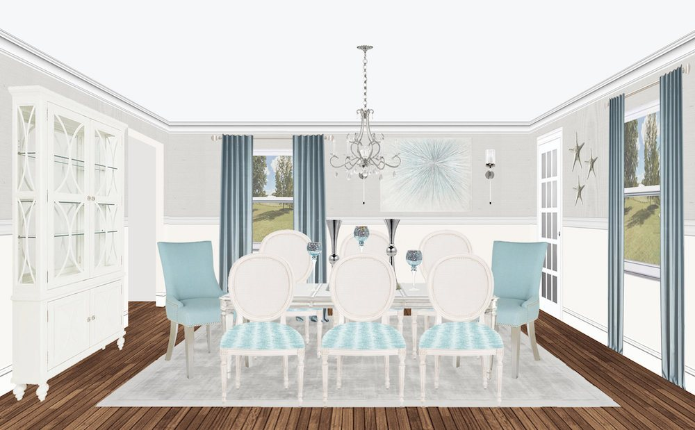 glam-beach-house-dining-room-makeover