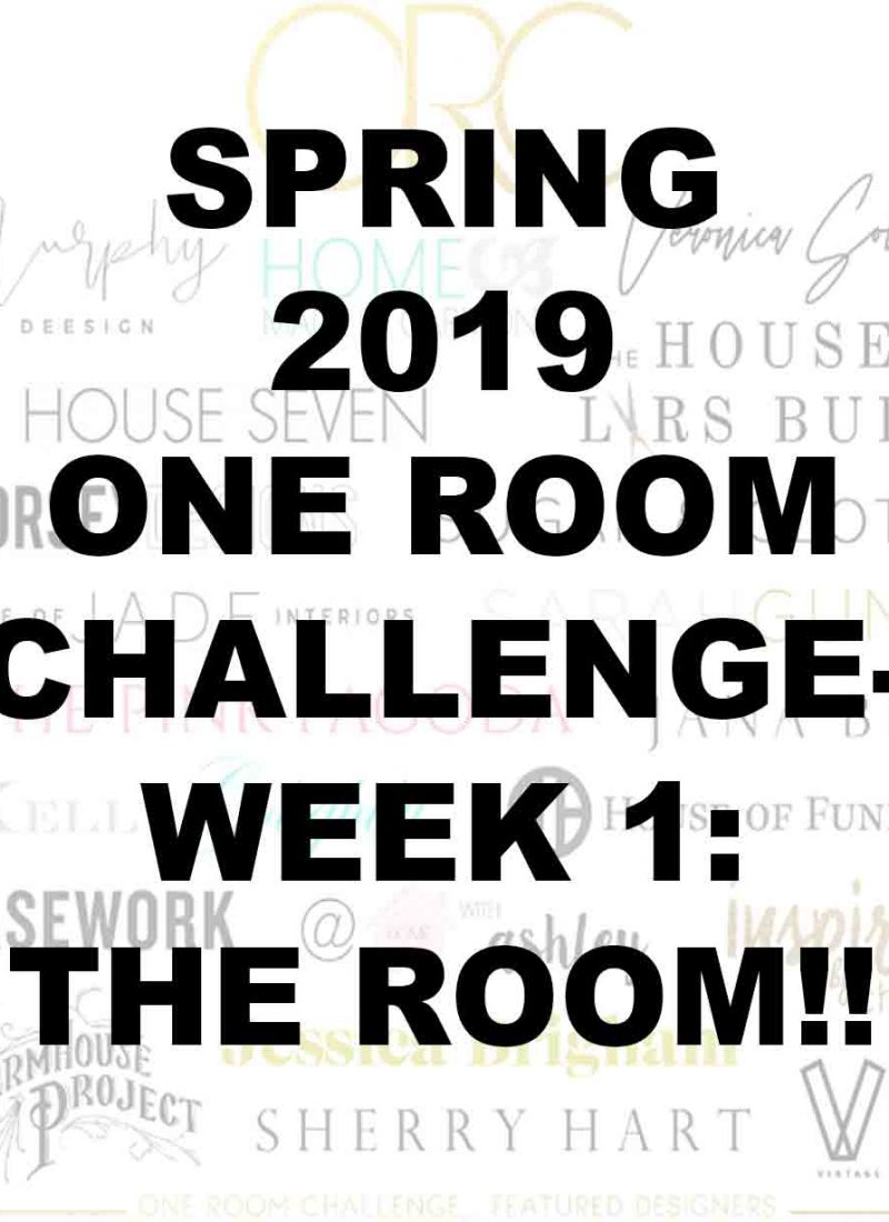 one-room-challenge-week-1