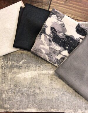 gray-and-black-color-scheme-fabrics-with-floral-velvet-1