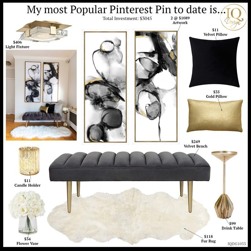 My most Popular Pin On Pinterest to date is…