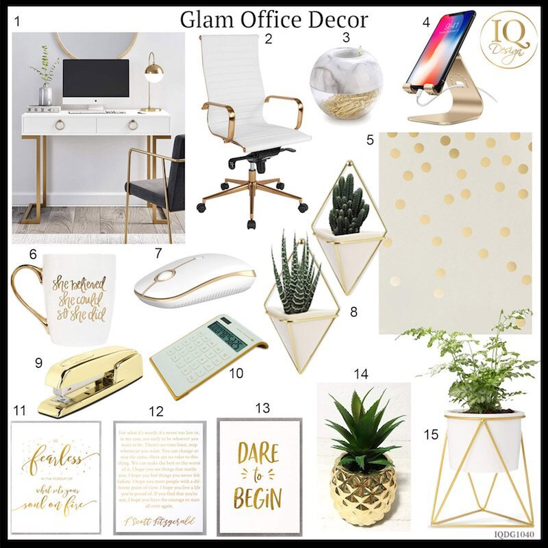 15 Glam Home Office Items That Will Actually Make You More Productive!