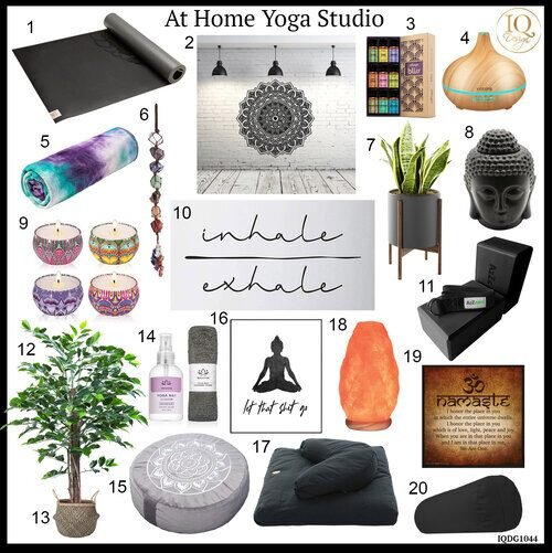 Top 20 Essentials For Your At Home Yoga Studio