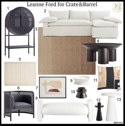 13 Favorites from Leanne Ford for Crate&Barrel to update your home!