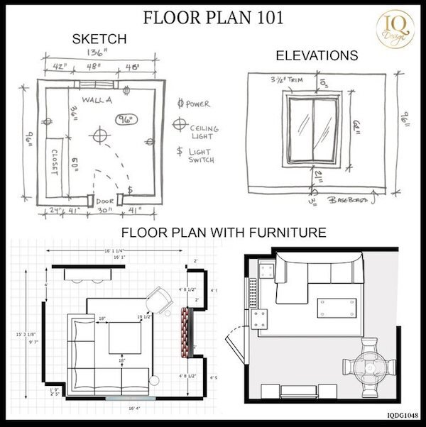 FLOOR PLAN 101 TIPS TO HELP YOU MEASURE FOR A ROOM MAKEOVER!