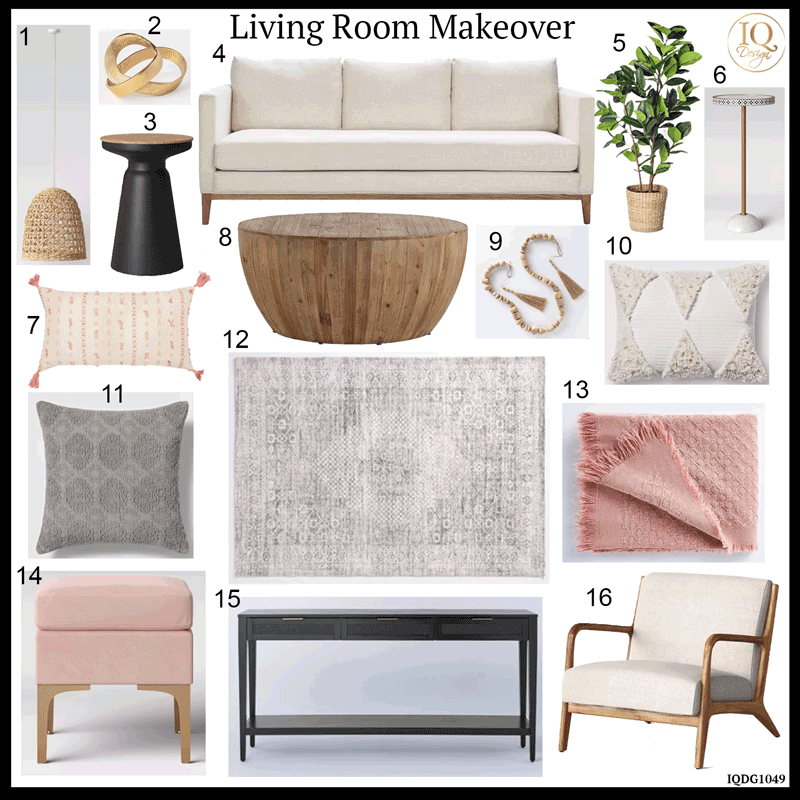 16 Things we LOVE from Target for a Living Room Makeover