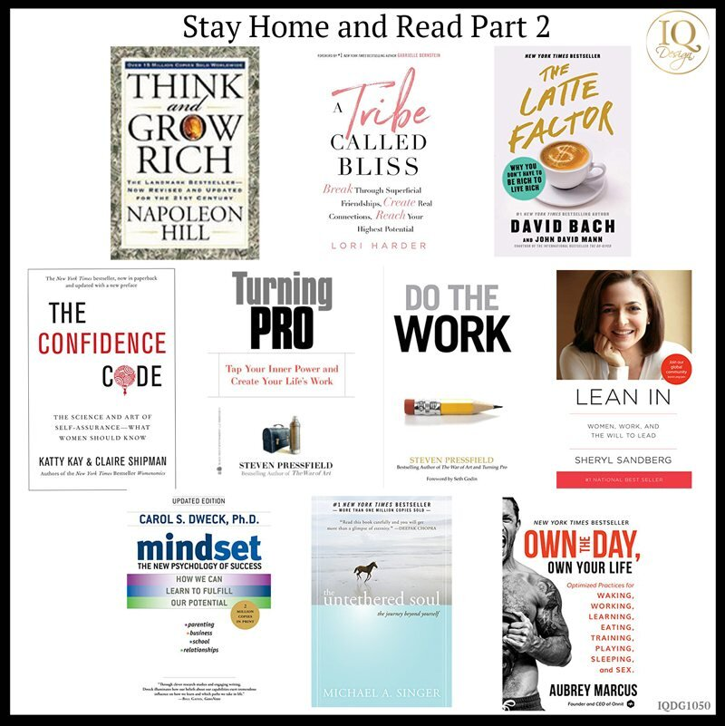 10 Books to improve your Business and Mindset while you Quarantine!