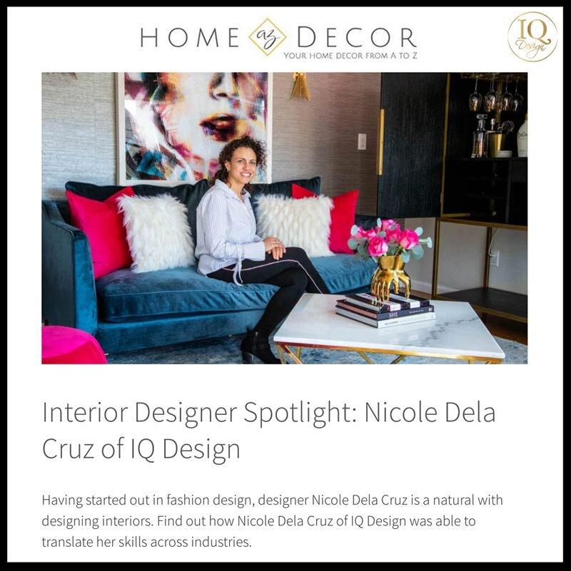 Interior Designer Spotlight Nicole Dela Cruz of IQ Design