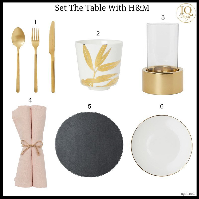 How to Set the Table With H&M on a Budget