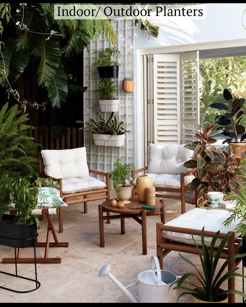 17 Indoor Outdoor Planters You'll Love For Your Outdoor Space