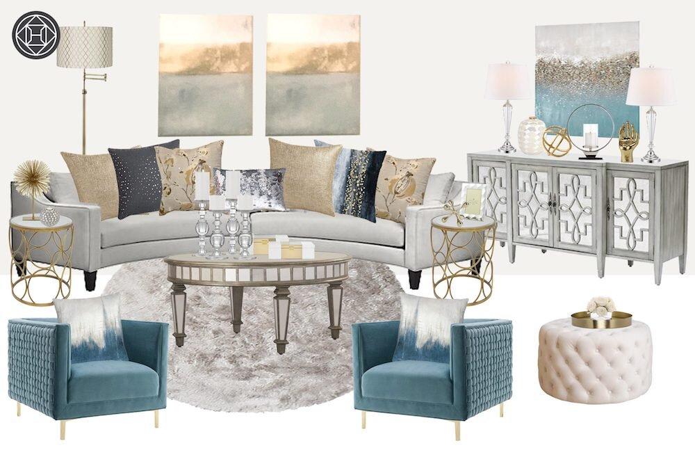glam-contemporary-living-room-design