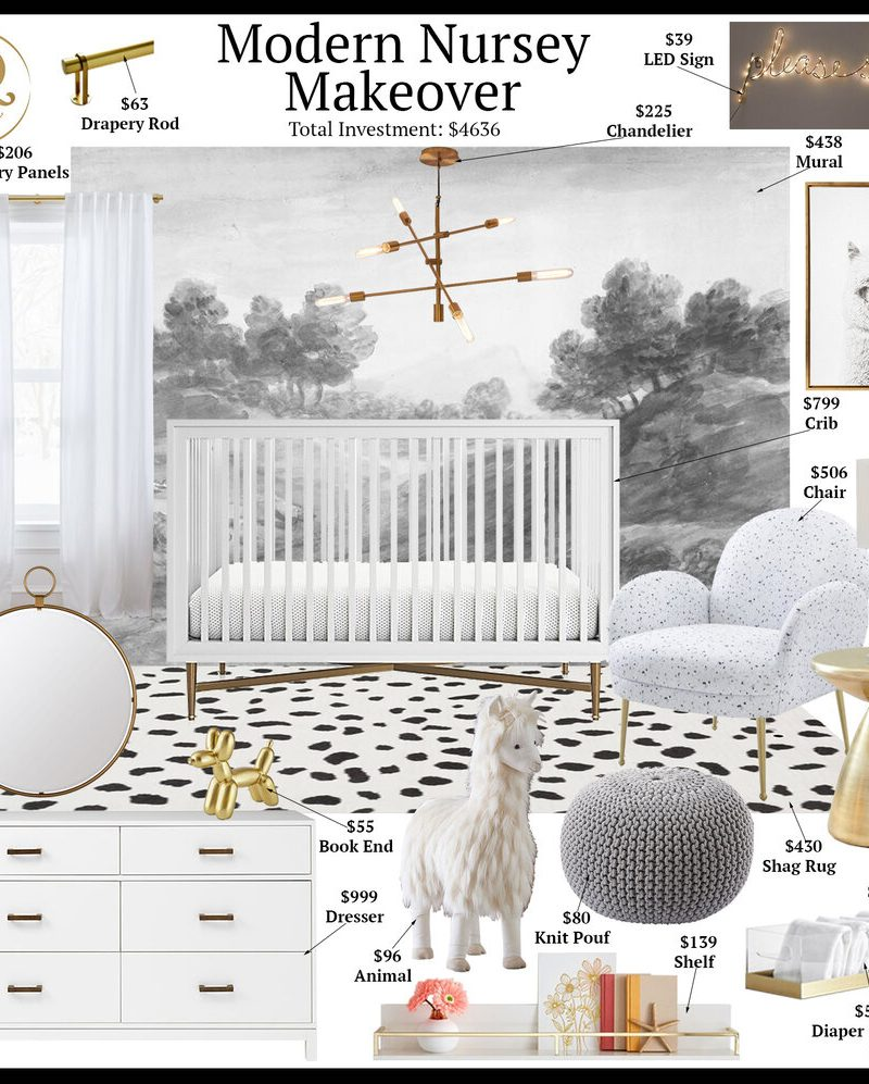 Modern Nursery • Room Starter Makeover