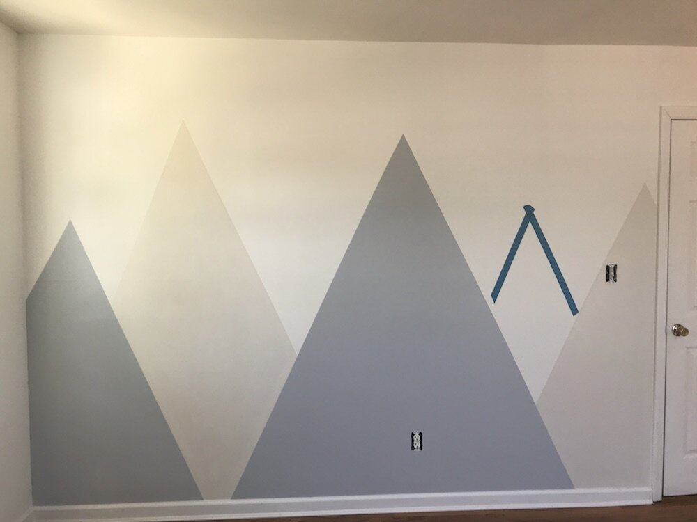 diy-tutorial-how-to-paint-a-mountain-murial-in your-kids-room-nursery-5