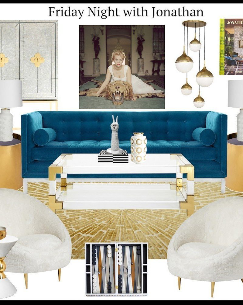 How I spent my Friday Night… Designing with Jonathan Adler!
