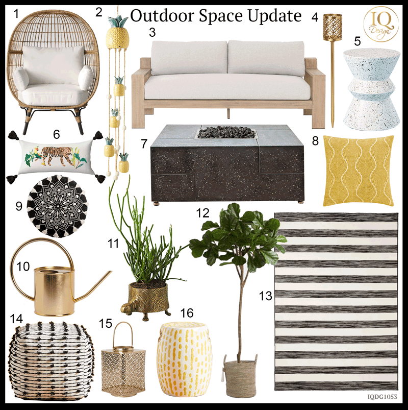 16 Finds to update your Outdoor Space while you Quarantine