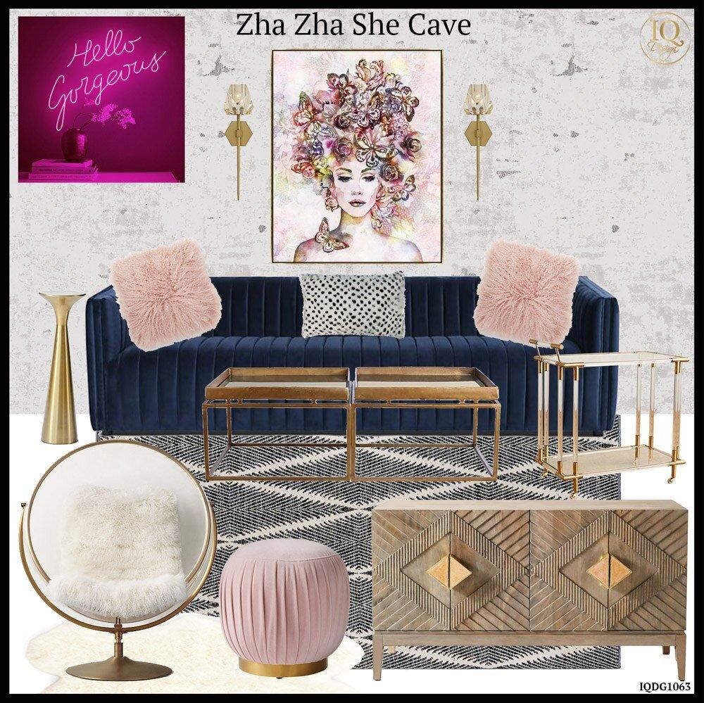 hello-gorgeous-living-room-with-blue-velvet-sofa