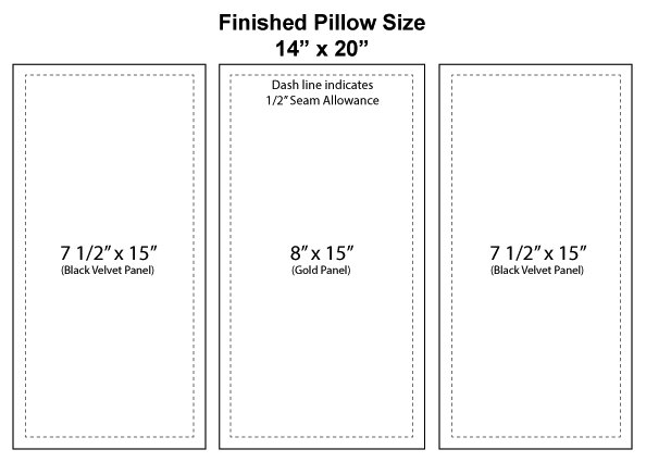 how-to-make-a-banded-pillow