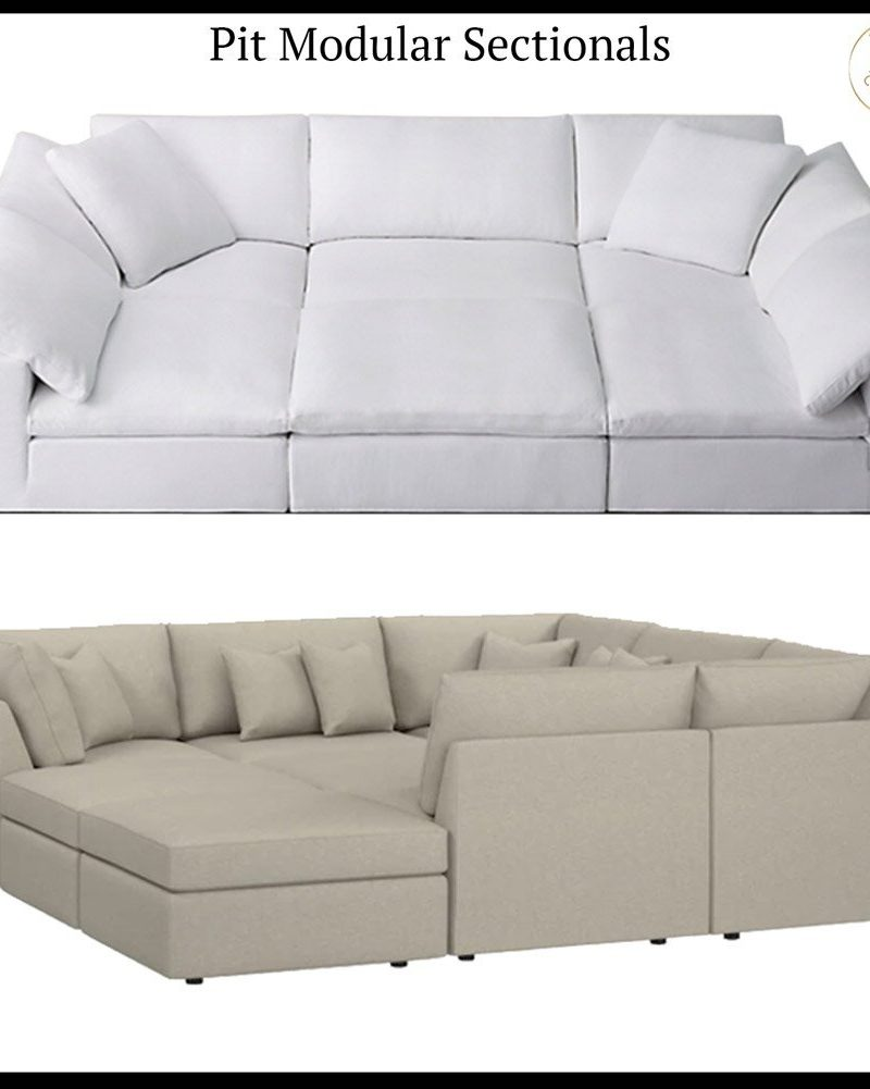 Beckham vs. Cloud Modular Pit Sectional | What's the Difference?