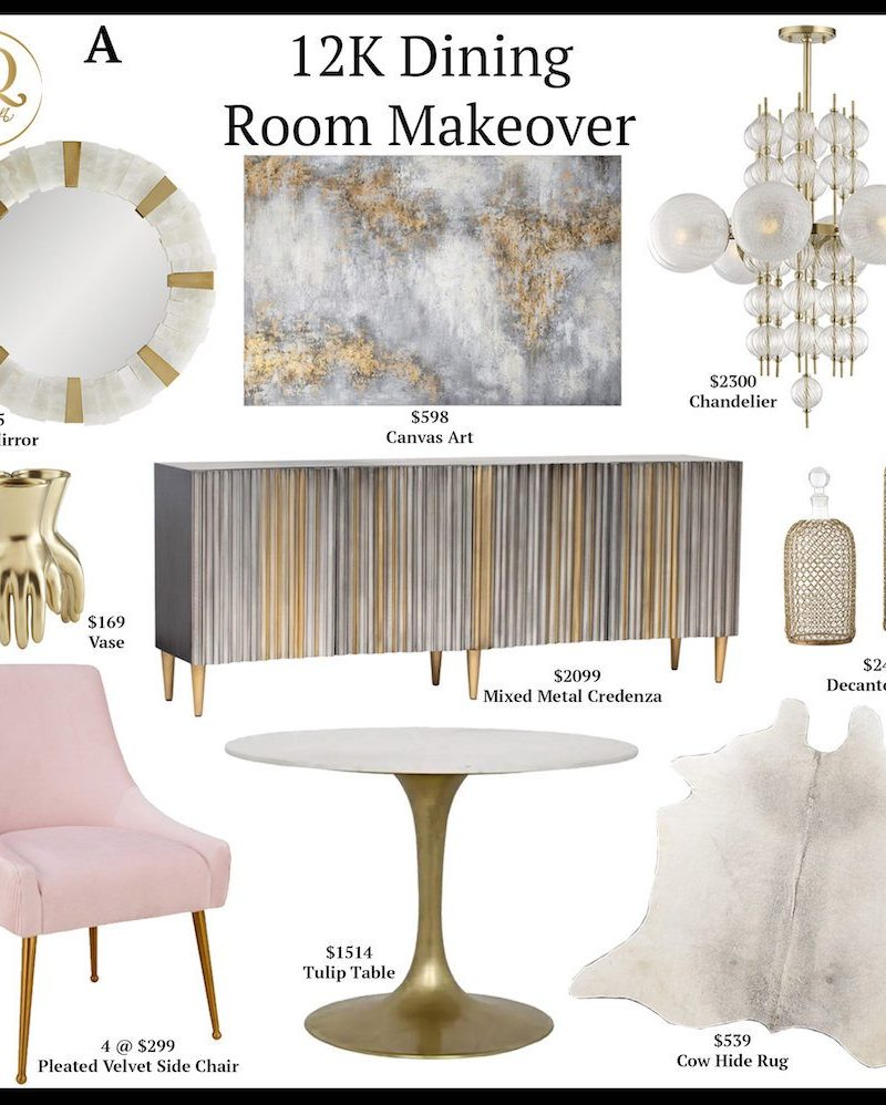 12K Dining Room Makeover