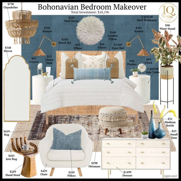How to design your AirbnbPlus Bohonavian Bedroom