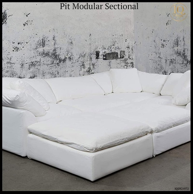 modular pit sectionals